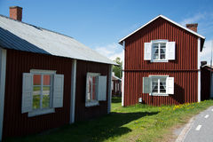 Gammelstad, Lulea, Sweden. Gammelstaden or Gammelstad is a locality situated in Lulea Municipality, Norrbotten County, Sweden and known for the Gammelstad Church Stock Images
