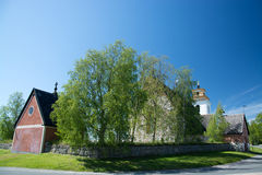 Gammelstad, Lulea, Sweden Royalty Free Stock Photo