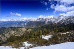 Gammes de haute montagne en Himalaya Image libre de droits