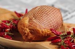 Gammon avec le paprika rouge hongrois Images stock
