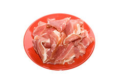 Gammon dish Royalty Free Stock Images