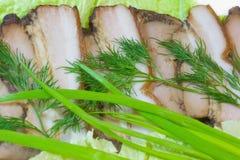Gammon fumado da carne de porco. Foto de Stock Royalty Free