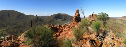 Gammon ranges, south australia Royalty Free Stock Photos