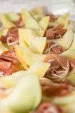 Gamon i miodunka melon Obrazy Stock