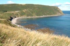 Gamrie海湾,苏格兰 图库摄影