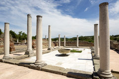 Gamzigrad Felix Romuliana. Gamzigrad - the ancient Roman complex of palaces and temples Felix Romuliana, built by Emperor Galerius in Dacia Ripensis royalty free stock photo