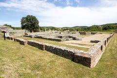 Gamzigrad Felix Romuliana. Gamzigrad - the ancient Roman complex of palaces and temples Felix Romuliana, built by Emperor Galerius in Dacia Ripensis royalty free stock photos