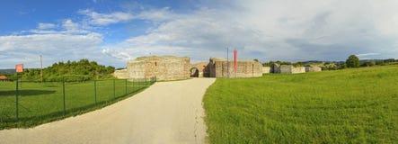 Gamzigrad - Felix Romuliana - Zajecar, Serbia - UNESCO World Heritage Site. Gamzigrad is an archaeological site and UNESCO World Heritage Site of Serbia, located stock image