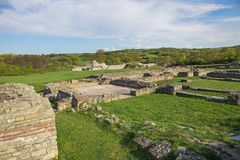 Gamzigrad, Felix Romuliana,ancient Roman palace ruins. Zajecar,Serbia stock photos