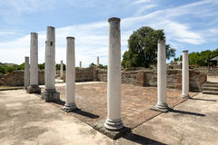 Gamzigrad Felix Romuliana. Gamzigrad - the ancient Roman complex of palaces and temples Felix Romuliana, built by Emperor Galerius in Dacia Ripensis stock photography