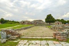 Gamzigrad - Felix Romuliana - Zajecar, Serbien - UNESCO-Welterbestätte lizenzfreies stockbild