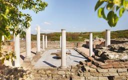 Gamzigrad Romuliana, дворец Galerius Стоковая Фотография RF
