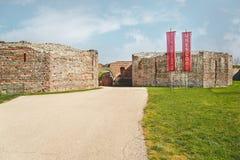 Gamzigrad Romuliana, Palace of Galerius. Felix Romuliana, ancient Roman emperor Galerius palace, Zajecar, Serbia, UNESCO World Heritage Site stock image