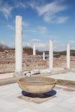 Gamzigrad Romuliana, Palace of Galerius. Felix Romuliana, ancient Roman emperor Galerius palace, Zajecar, Serbia, UNESCO World Heritage Site stock images