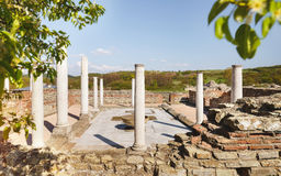 Gamzigrad Romuliana, Palace of Galerius. Felix Romuliana, ancient Roman emperor Galerius palace, Zajecar, Serbia, UNESCO World Heritage Site royalty free stock photography