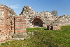 Gamzigrad Romuliana, Palace of Galerius. Felix Romuliana, ancient Roman emperor Galerius palace, Zajecar, Serbia, UNESCO World Heritage Site stock photography