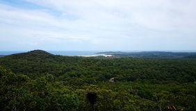 Gan Gan Hill Lookout @ Nelson Bay Attraction foto de stock