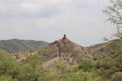 Gan ganesh fort. A famous gan ganesh fort at aravali hills Royalty Free Stock Image
