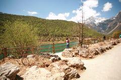 Gan Haizi, Lijiang стоковая фотография