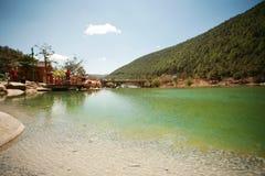 Gan Haizi, Lijiang Стоковые Изображения RF