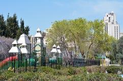 Gan Hapaamon park in Jerusalem, Israel Stock Image