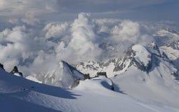 Gan Paradiso National Park, mountain peaks. In Italy royalty free stock photo