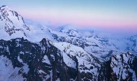 Gan Paradiso National Park, mountain peaks. In Italy royalty free stock photos