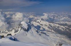 Gan Paradiso National Park, mountain peaks. In Italy royalty free stock photography
