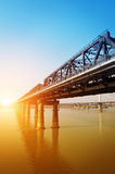 Gan River Bridge. In China Stock Photography