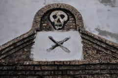 Gana: Local do patrimônio mundial do castelo de Elmina, história da escravidão fotografia de stock royalty free