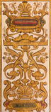 Ganada - η μπαρόκ νωπογραφία διακοσμήσεων Iglesia de SAN Anton Στοκ εικόνα με δικαίωμα ελεύθερης χρήσης