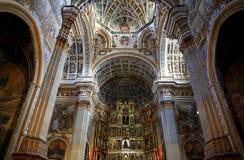 Ganada spain Kloster av den San Jerà ³nimoen de Granada Arkivfoto