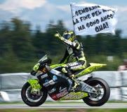 Ganador de Brno ¨Moto2 Andrea Iannone Imagenes de archivo