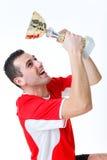 Ganador del campeonato foto de archivo