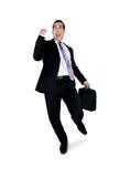 Ganador del hombre de negocios Imagen de archivo libre de regalías