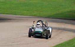Ganador magnífico de la raza de coche de Prix de la vendimia imagen de archivo libre de regalías