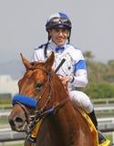 Ganadores de la Santa Anita 2010 Derby Imagenes de archivo