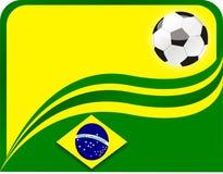 Ganadores de la taza del Brasil Fotografía de archivo libre de regalías