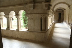 Ganagobie abbey Royalty Free Stock Photo