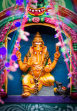 Ganapathy (индийское божество) Стоковые Изображения RF