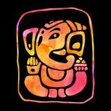 Ganapati Ganesha de la piedra libre illustration