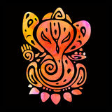 Ganapati. Hindu God Ganesha Royalty Free Stock Photo