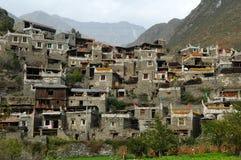 ganbao房子藏语 免版税库存照片