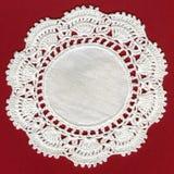 Ganchillo antiguo del algodón Imagen de archivo libre de regalías