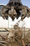 Gancho agarrador de la cáscara para la chatarra Imagen de archivo libre de regalías