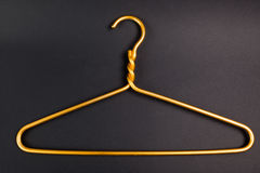 Gancho amarelo Foto de Stock Royalty Free