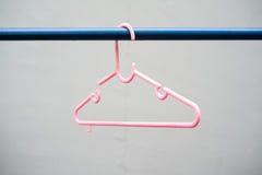 Gancho cor-de-rosa Foto de Stock Royalty Free