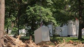 Gancho Crane Concrete almacen de metraje de vídeo