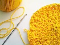 Gancho de Crochet Fotografia de Stock