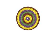 Gancho de crochet colorido Fotografia de Stock